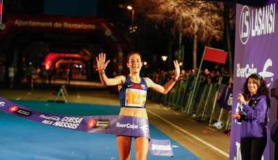 Marta Galimany nuevo récord de la hora en pista
