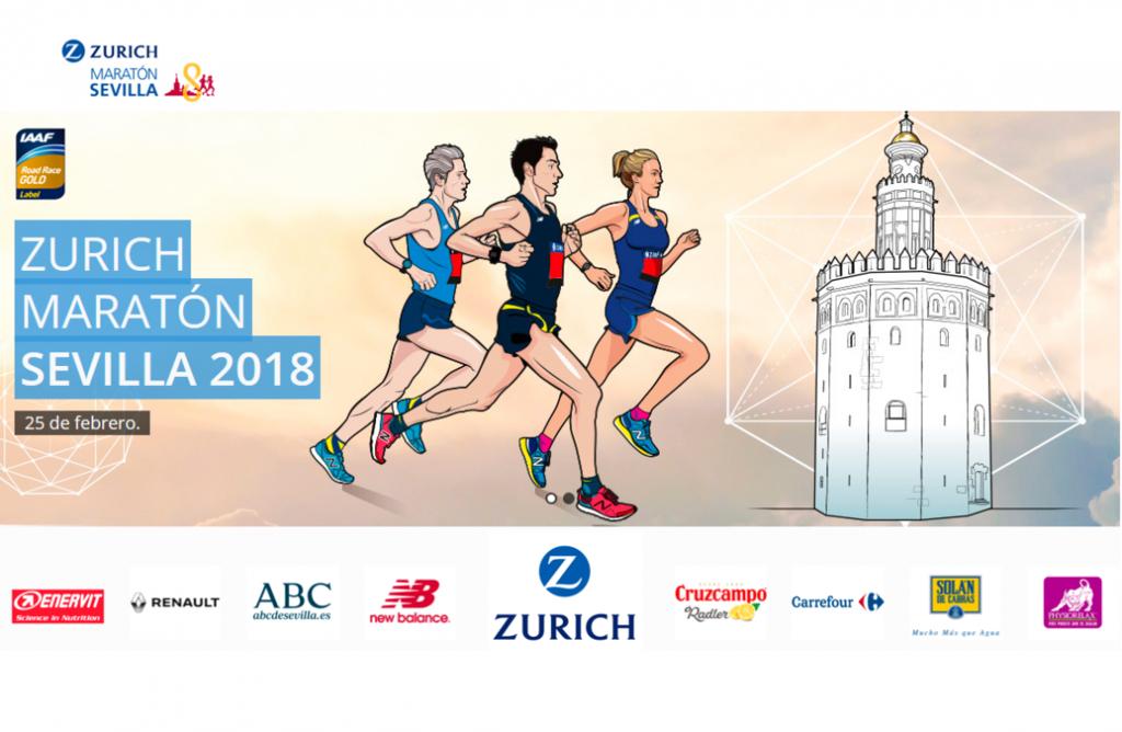 tienda en línea muy genial buen servicio El recorrido del Zurich Maratón Sevilla, por Nacho Cáceres ...