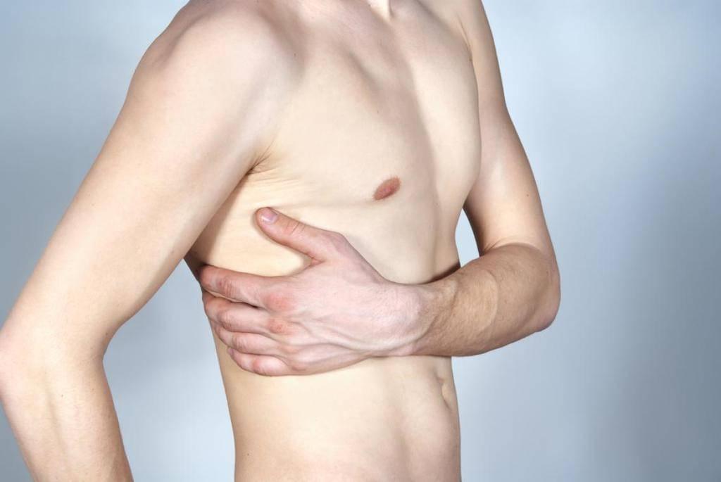 dolor en el pectoral izquierdo al respirar