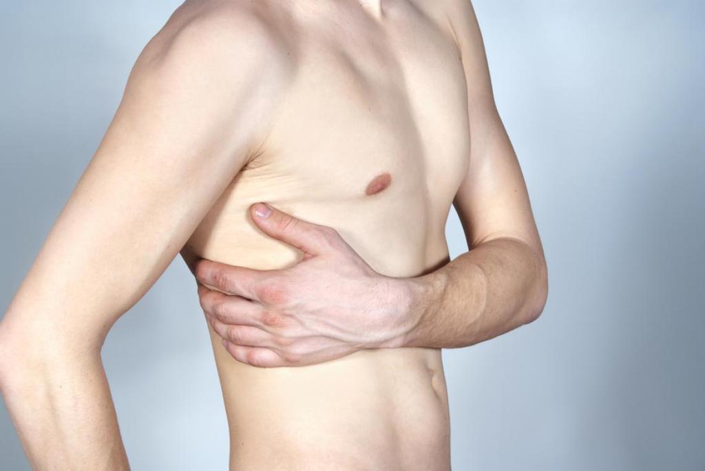 dolor al respirar en el pecho izquierdo
