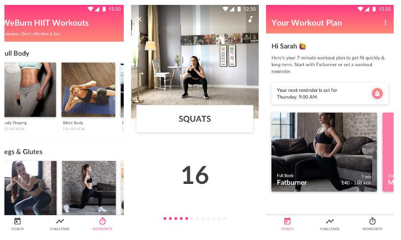 10 mejores aplicaciones gratis para hacer ejercicio en casa
