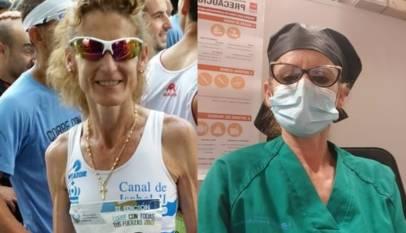 Griselda González, de maratoniana olímpica a enfermera