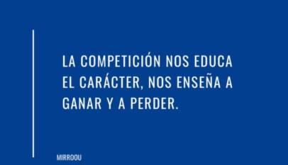 La competición nos define