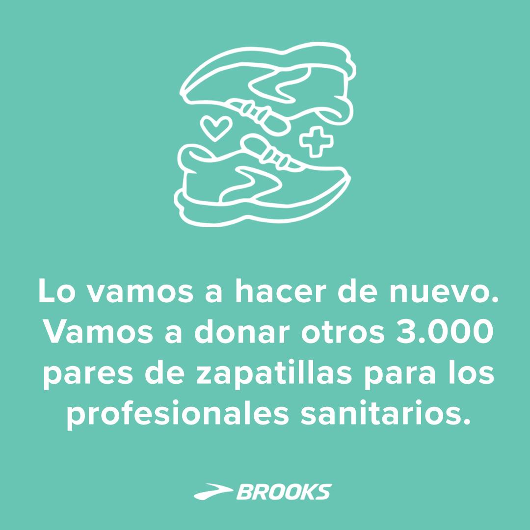 Brooks donativo