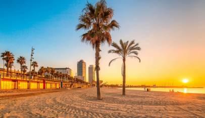 Se podrá hacer deporte por la playa de Barcelona