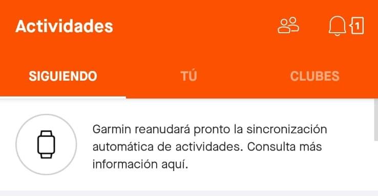Brillante Calor compilar  Garmin Connect ya sincroniza con otras APPS - Material   Running.es