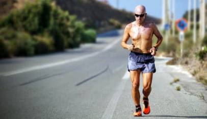 Correr al mediodía