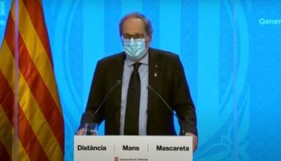 Cataluña prohíbe las reuniones de más de 10 personas