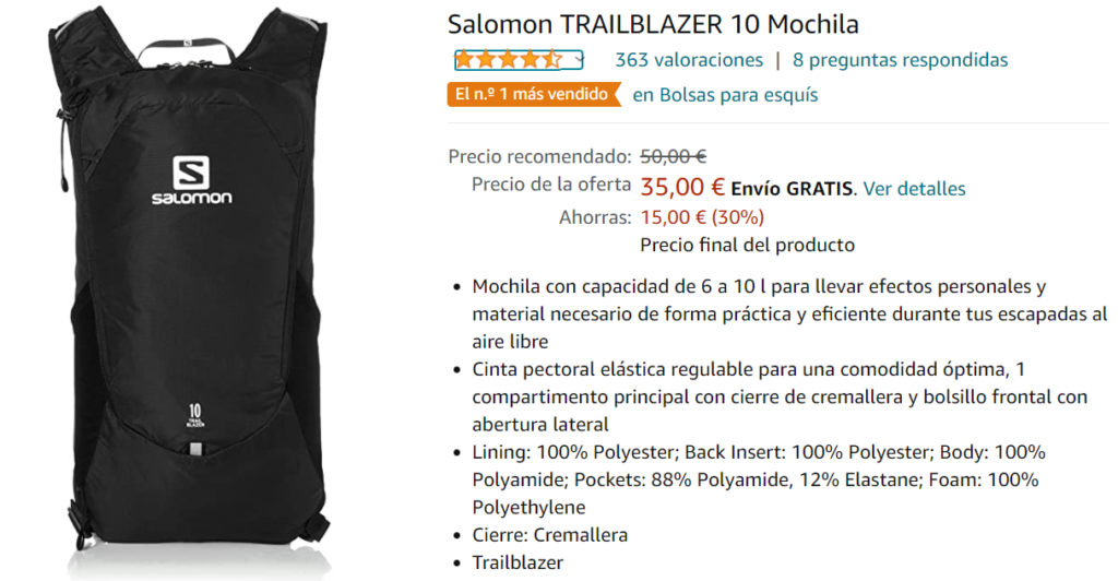 Salomon Trailblazer