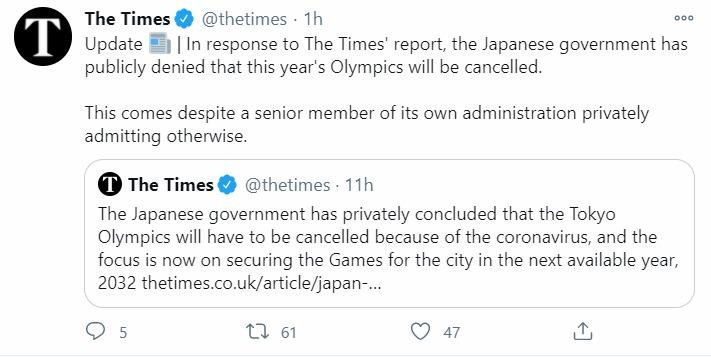 The Times responde a su primer artículo